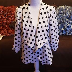 Polka dot jacket